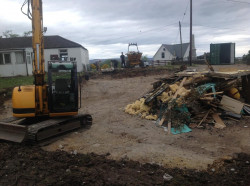 Work Begins on New Church Building in Aultbea