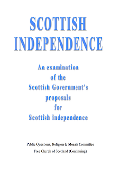 Scottish Independence Cover