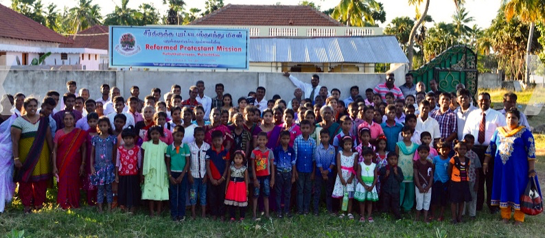 Mullaitheevu Preaching Station Group Outside